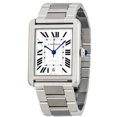 CARTIER卡地亞 TANK SOLO W5200028經典機械錶-31x40.85mm