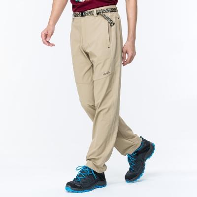 【ATUNAS 歐都納】男款驅蚊/防曬/彈性休閒長褲 A-PA1702M 卡其