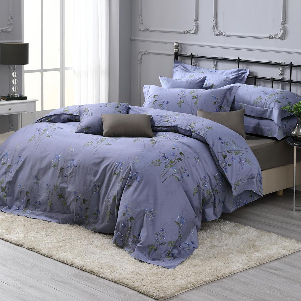 HOYA H Series芙蘭妮 特大四件式300織長纖細棉被套床包組