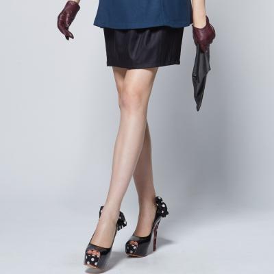 【ohoh-mini 孕婦裝】抓摺修身褲圍可調OL裙