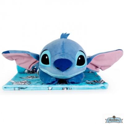 Zoobies 迪士尼Disney 星際寶貝款 玩偶抱毯/嬰兒毯/毛毯 彌月禮盒