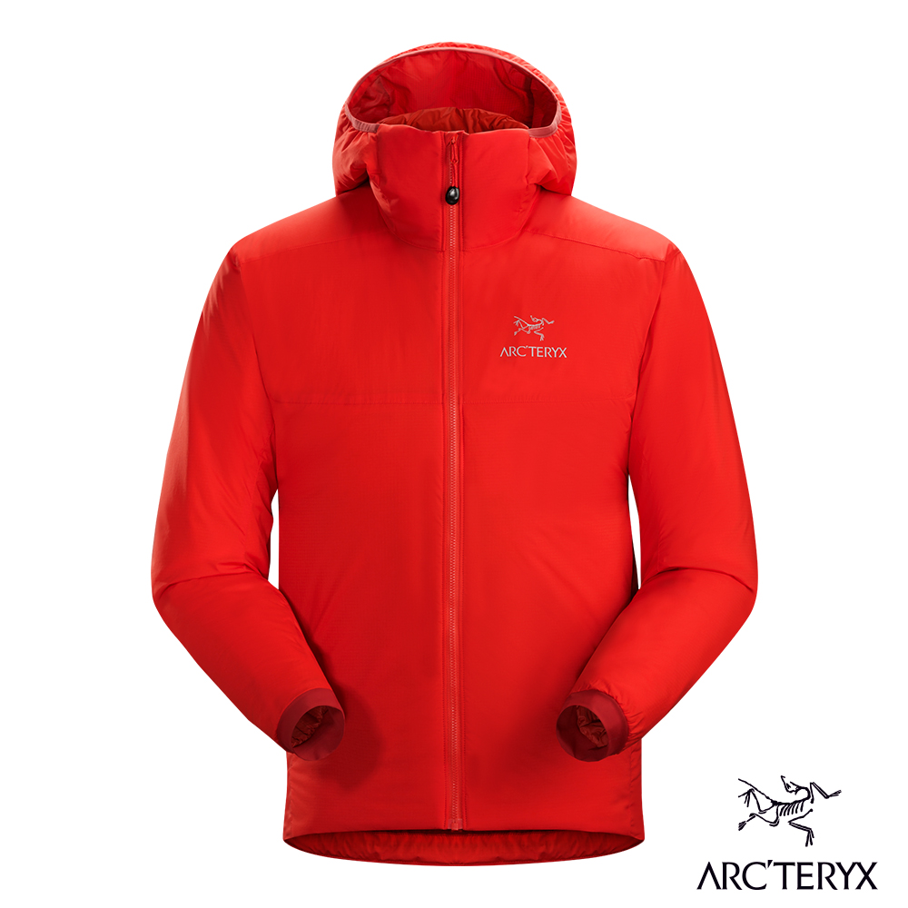 Arcteryx 始祖鳥 男 Atom AR 保暖化纖外套 紅