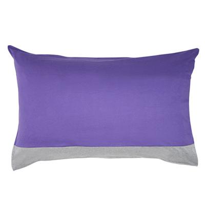 Yvonne Collection北極熊床組枕套-紫