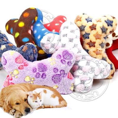 DYY》毛絨枕頭寵物貓咪比熊耐咬磨牙玩具-款式