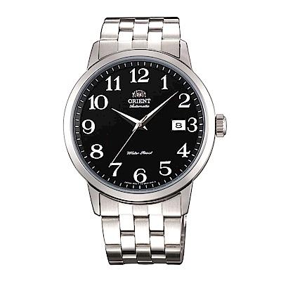 ORIENT 魅力型男自動上鍊機械腕錶(FER2700JB0)-黑/41mm