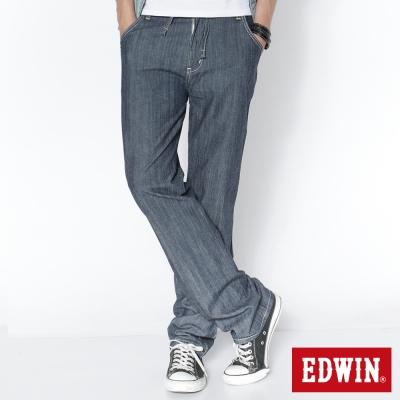 EDWIN EASY PANTS中直筒休閒褲_男_原藍色