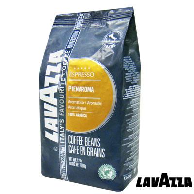 義大利LAVAZZA Pienaroma 咖啡豆(1000g)