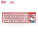 HELLO KITTY × LINE FRIENDS 有線鍵盤