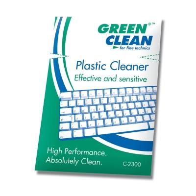 GREEN CLEAN Plastic Cleaner辦公室清潔濕紙巾5入C-2300-5