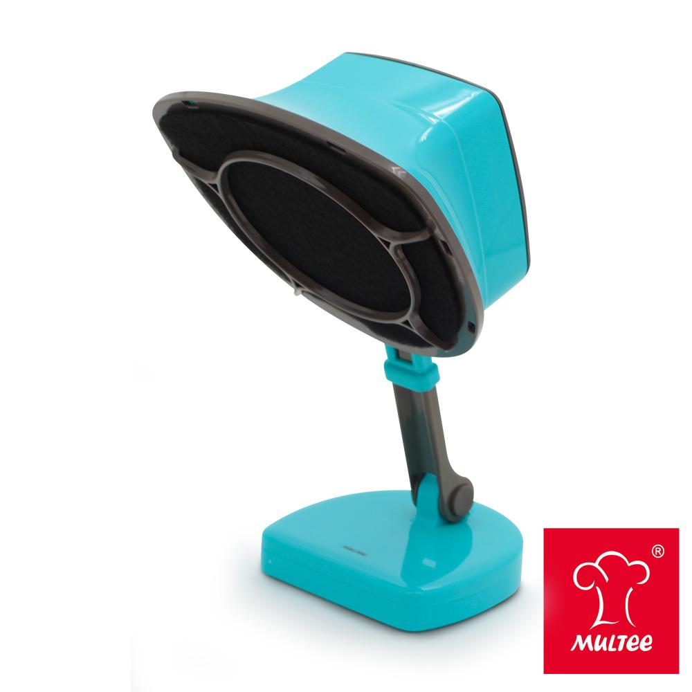 MULTEE摩堤 移動雙濾網抽油煙機-土耳其藍
