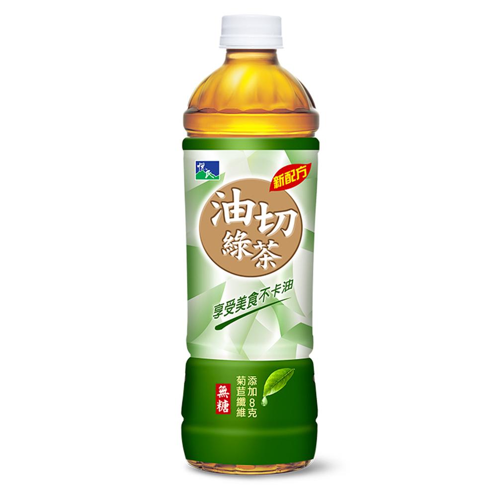 悅氏 油切綠茶(550mlx24瓶)