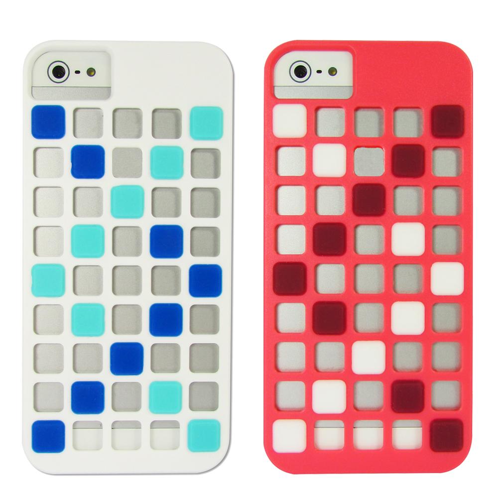 X-doria iPhone5/5S Cubit遊戲方塊組合外殼
