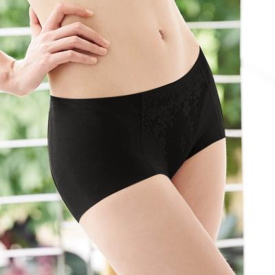 曼黛瑪璉-2014AW低腰平口無痕褲M-XL-黑