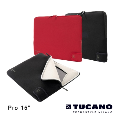 TUCANO Charge_up MB Air/ Pro 專用雙重防震內袋15.4吋