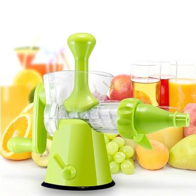PUSH!廚房用品渣汁分離營養保留良好的螺旋擠壓式手動榨汁機