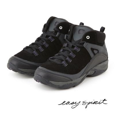 EasySpirit--登山舒適健走休閒鞋-帥氣黑