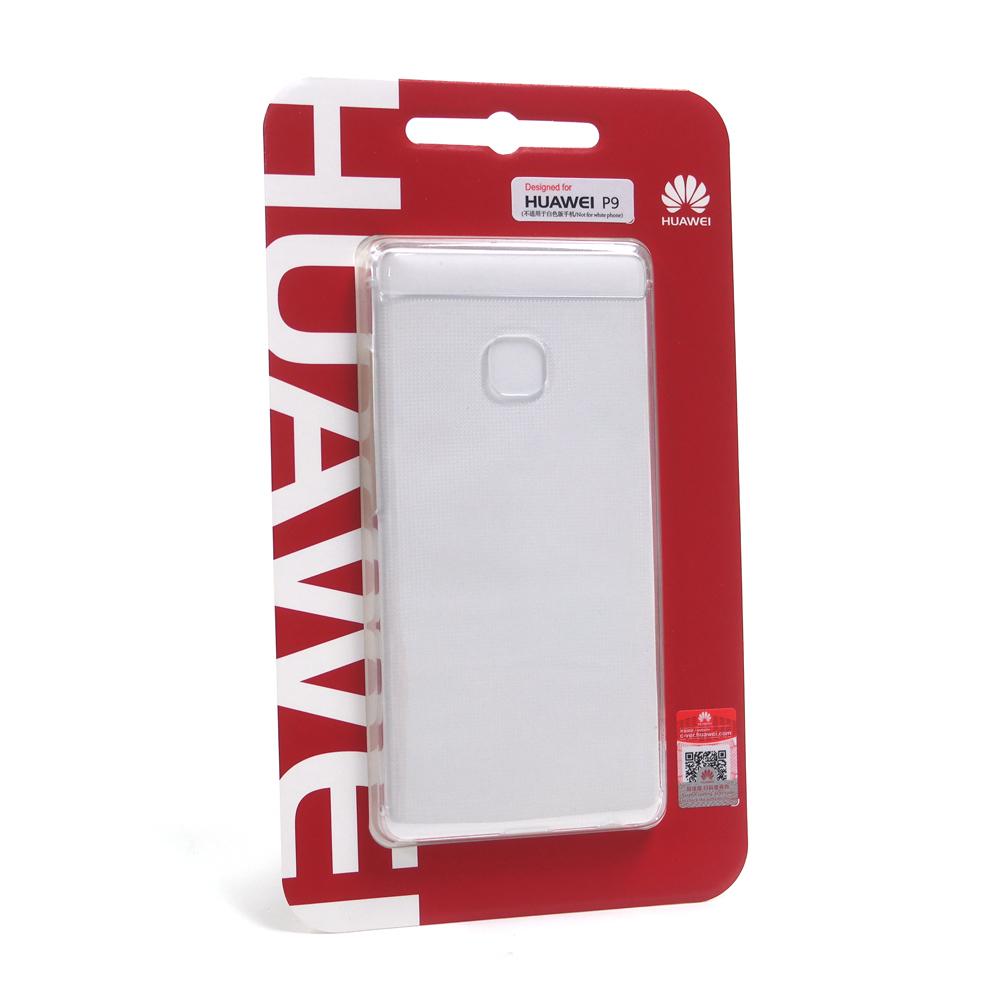 HUAWEI 華為 P9 原廠點紋透明保護殼 (台灣公司貨-盒裝)