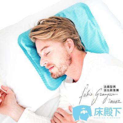 床殿下-ICE-COOL-降8度冰酷涼墊1枕-國民
