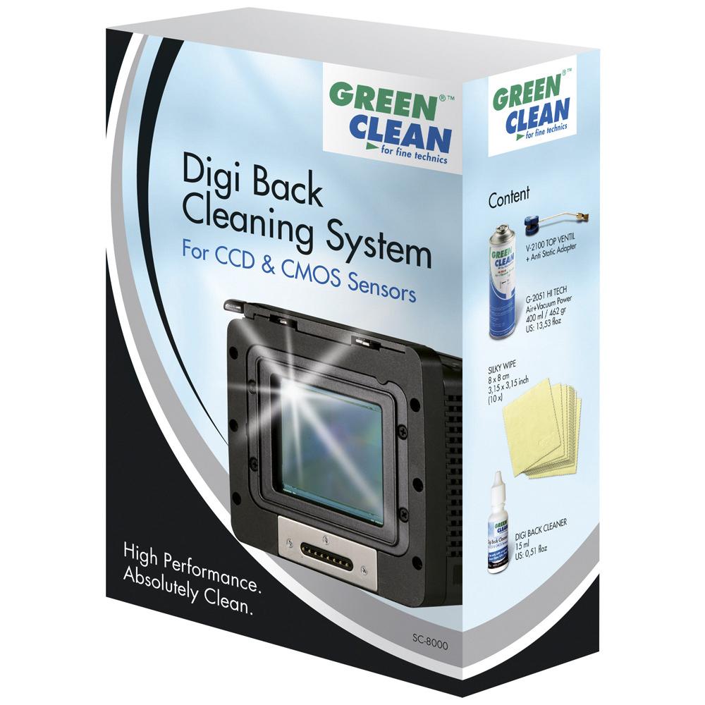 GREEN CLEAN 數位感光元件清潔組 SC-8000