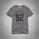 AF a&f Abercrombie & Fitch 女T恤 灰色 0007