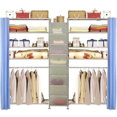 巴塞隆納─W5型90+D+W5型90衣櫥置物櫃