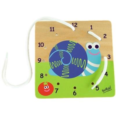 法國Boikido木製玩具-數字穿線板