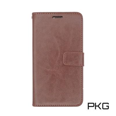 PKG 華為Mate10 側翻式皮套-精選系列-咖啡棕色