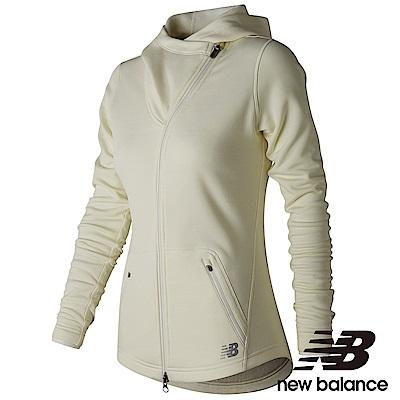 New Balance HEAT 連帽外套 AWJ73100SST女性米白