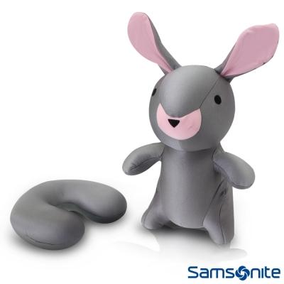Samsonite新秀麗 立體兔 可翻轉頸枕