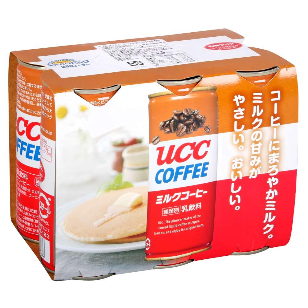 UCC限定版牛奶咖啡 (6入組)