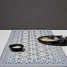 以色列穆妮薩-桌墊(長)-古典藍紋