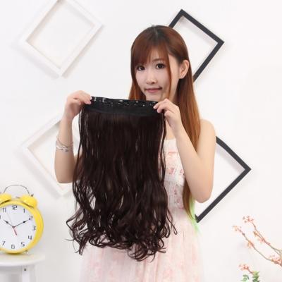 狐狸姬,髮片一片無痕接髮片捲髮造型假髮髮片(捲髮)