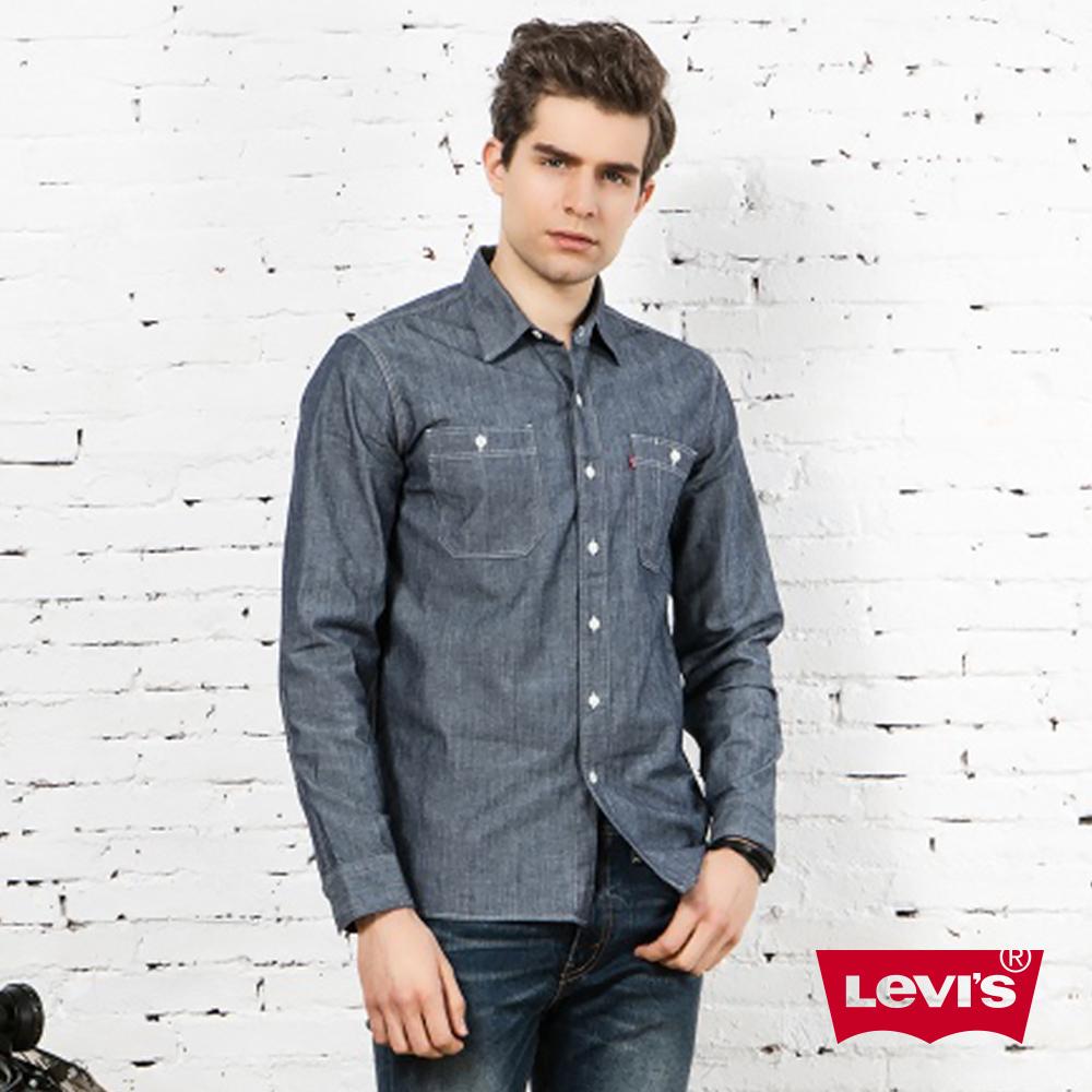 Levis 牛仔襯衫 男裝 雙口袋