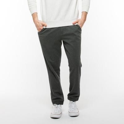 Hang-Ten-男裝-簡約流行素色長褲-灰