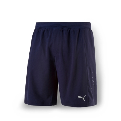 PUMA 男性慢跑系列PWRCOOL9吋短褲-重深藍