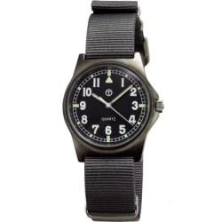 MWC 瑞士皇家光輝超級夜光軍錶-黑/38mm