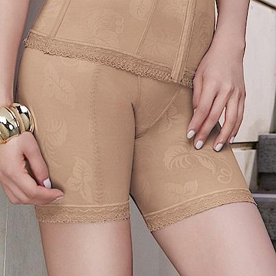 曼黛瑪璉 魔幻美型 重機能-中腰中管束褲(深遂膚)