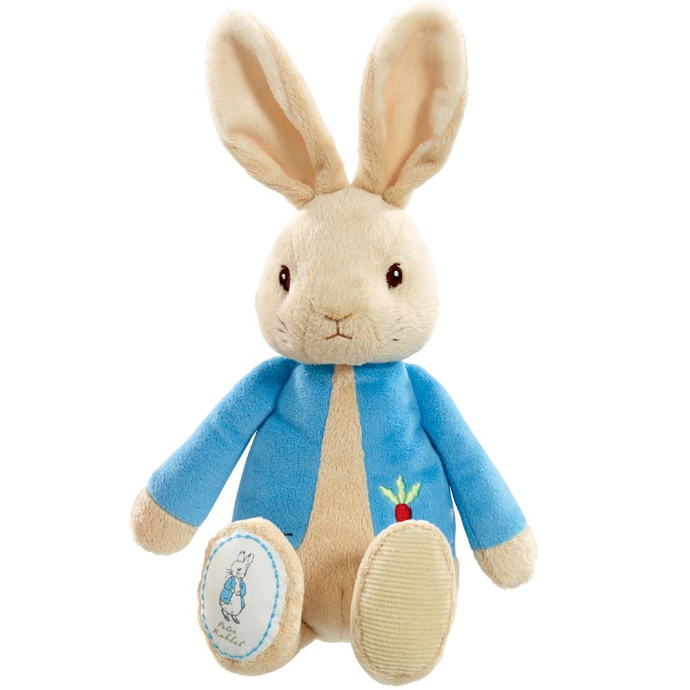 奇哥 比得兔玩偶-粉藍