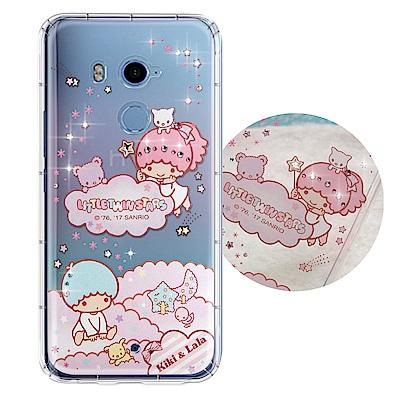 正版雙子星 HTC U11+/ U11 Plus 夢幻童話 彩鑽氣墊保護殼(雙子...