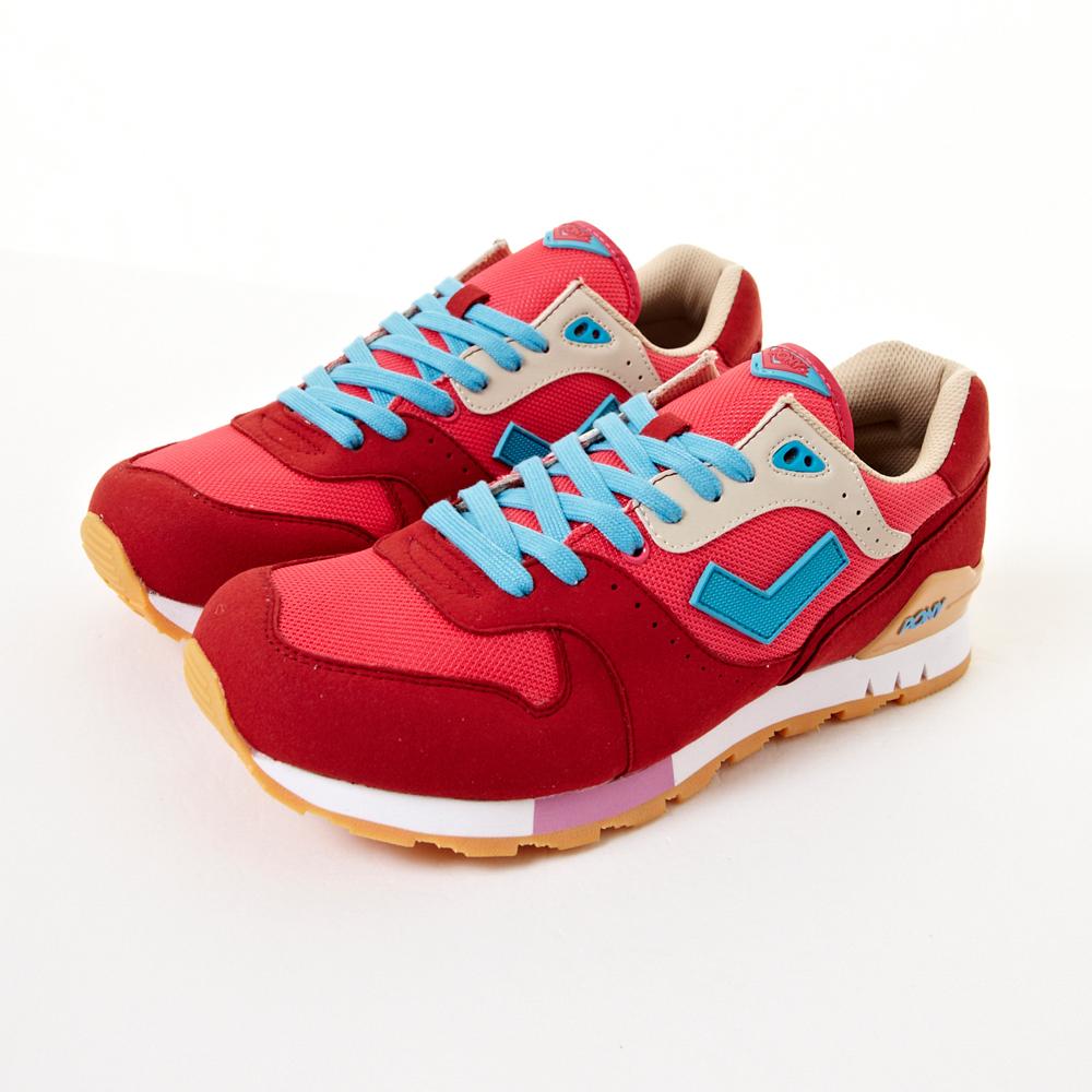 PONY-Mark8系列聯名冰紛慢跑鞋-紅(女性)