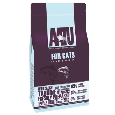 奧圖AATU超級8《皇室85%鮭魚+鯡魚》 低敏無穀挑嘴全齡貓糧1KG
