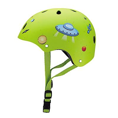 GLOBBER 安全帽 -火箭綠-XS