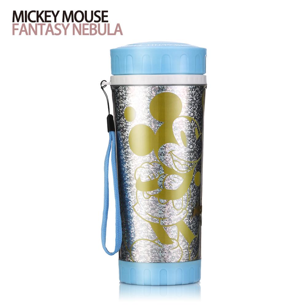迪士尼Disney 奇幻星雲雙層晶瑩隨手杯380ml(8H)