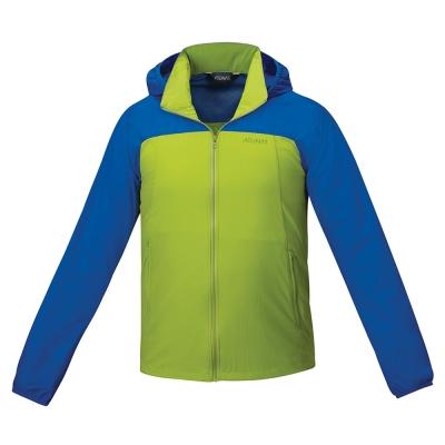 【ATUNAS 歐都納】男款防曬透氣輕薄外套 A-G1605M 亮綠
