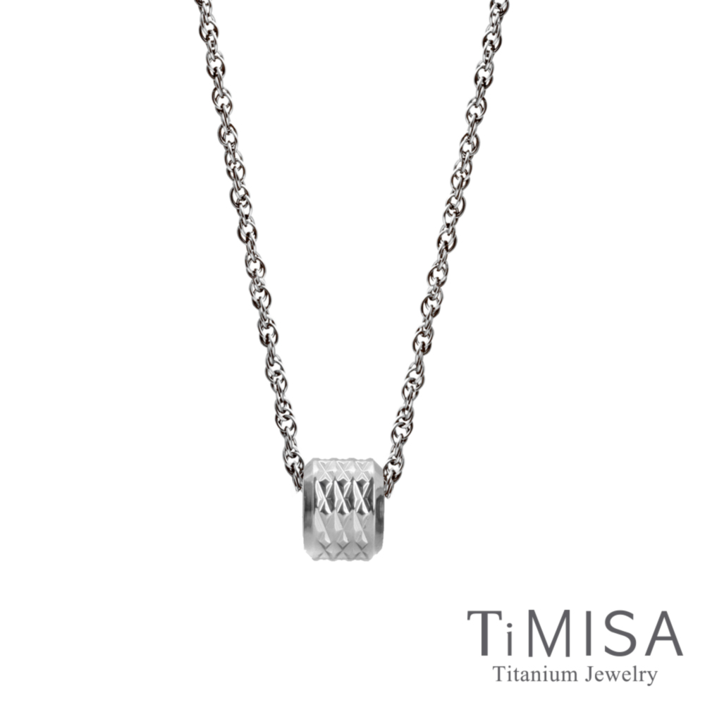 TiMISA 愛的印記(S)純鈦項鍊(SSB) @ Y!購物