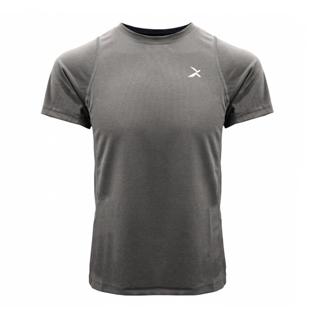 EGXtech EDS-EXT 男款涼感單導排汗短袖(麻灰)