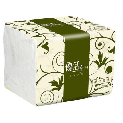 Livi 優活 柔拭紙巾300抽72包x5箱