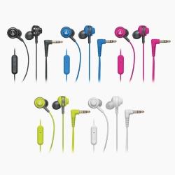 鐵三角 耳道耳掛式手機用耳麥ATH-COR150iS