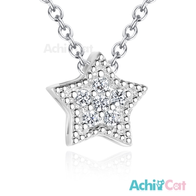 AchiCat 925純銀項鍊 星星神話 鎖骨鍊