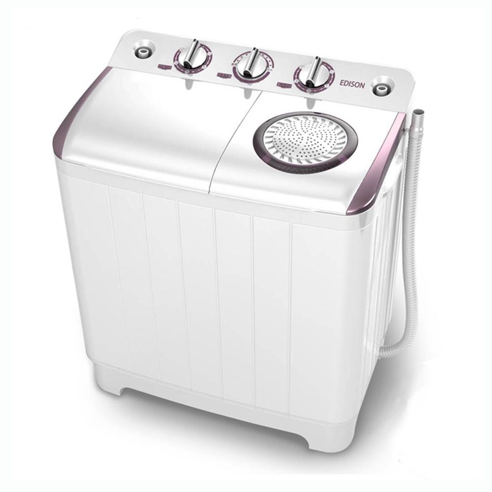 EDISON 3.5KG超大容量雙槽迷你洗衣機 XPB35-88S-A